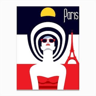Paris - Stylish Journey Canvas Print