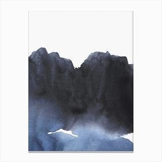 Blue Transition Canvas Print