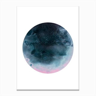 Oberon Blue Canvas Print