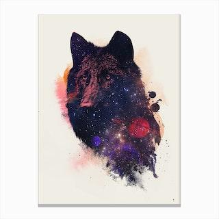 Universal Wolf Canvas Print