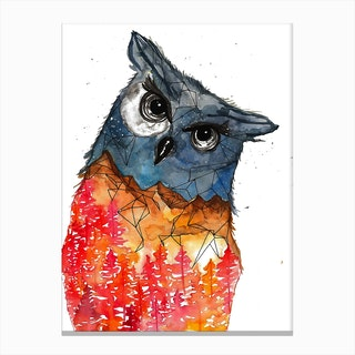 Owl I Canvas Print
