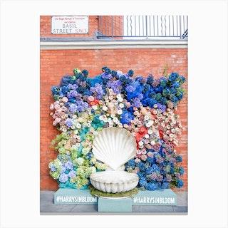 London In Bloom Canvas Print