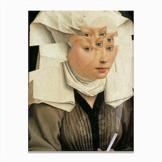 Rogier Van Der Weyden Und Das Laster Canvas Print