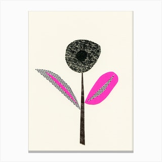Abstract Flower I Canvas Print
