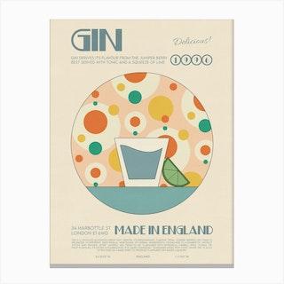 The Gin Canvas Print