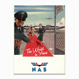 Nas Airlines Canvas Print