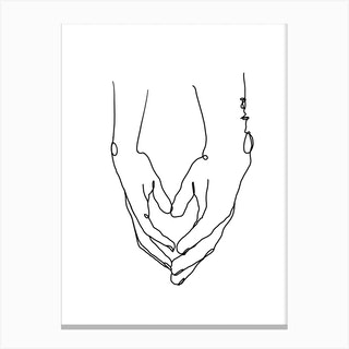 Heart In Your Hands Canvas Print