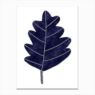 Mono Oak Canvas Print