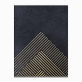 Pyramid Of Love Canvas Print