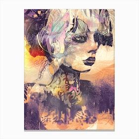 Animales Salvajes Canvas Print