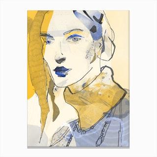 Lone 4 Canvas Print