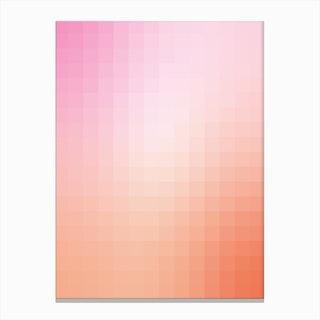 Gradientblocks 8 Canvas Print
