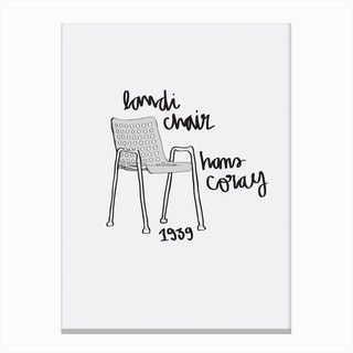 Landi Chair Canvas Print