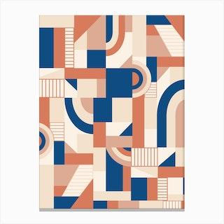Bold Blocks Canvas Print