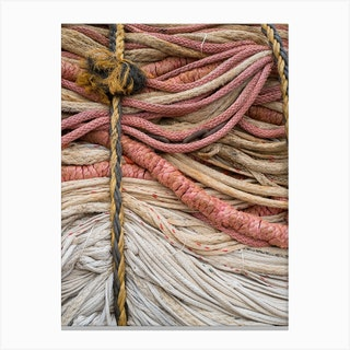 Fisherman Rope Part 2 Canvas Print
