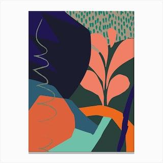 Crassula Canvas Print