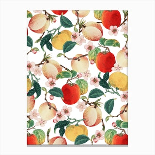 Fruity Summer In Canvas Print