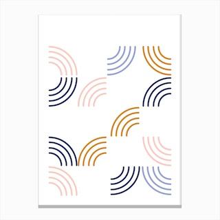 Sunrays Canvas Print