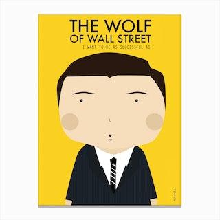 Little Wolf Wall Canvas Print