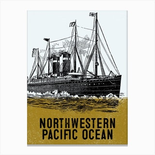 Northwestern Pacific Ocean Canvas Print