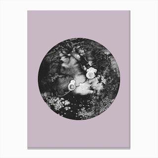 Pluto Lilac Canvas Print