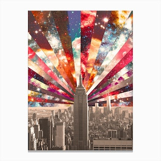 Superstar New York in Canvas Print
