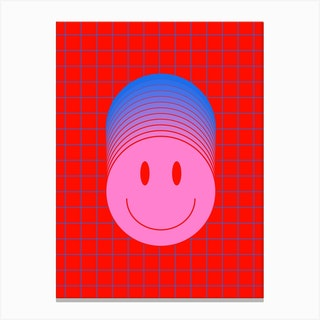 Smiley 1 Canvas Print