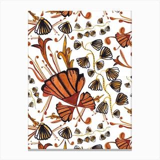 Art Deco Pattern Canvas Print