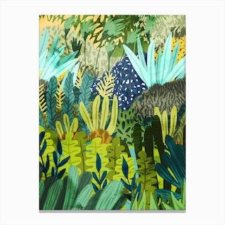 Wild Jungle Ii Canvas Print
