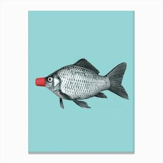 Soy Sauce Fish Canvas Print
