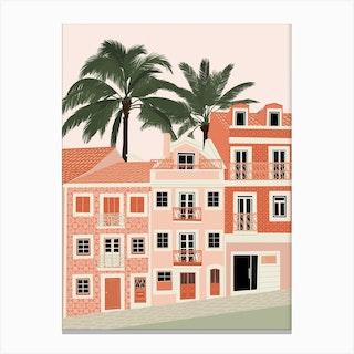 Lisbon Print  Canvas Print