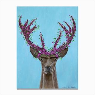 Frida Kahlo Deer Canvas Print