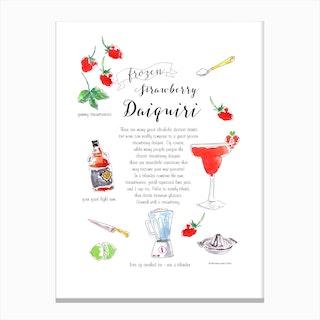 Daiquiri Canvas Print