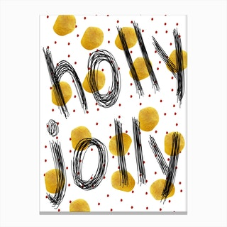 HollyJolly Canvas Print