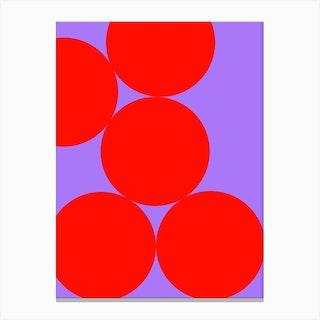 Just Dots Canvas Print