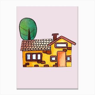 Golden House Canvas Print