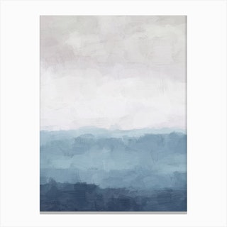 Misty Evening Canvas Print