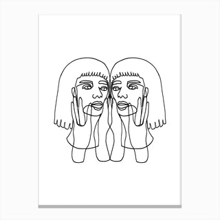 Jada Canvas Print