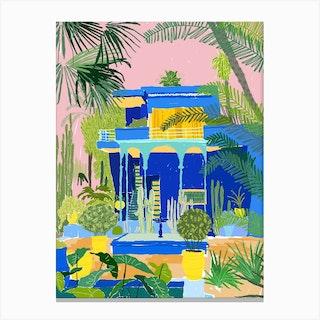 Jardon Majorelle Canvas Print
