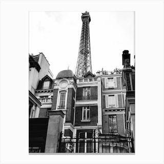 Noir Paris Vii Canvas Print