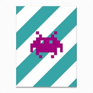 Invader 3 Canvas Print