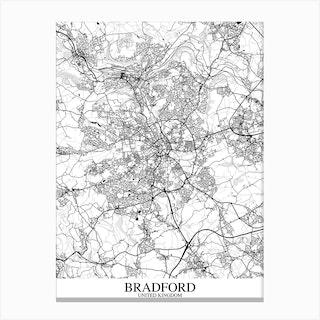 Bradford White Black Canvas Print