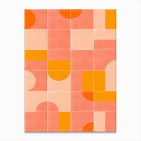 Retro Tiles 03 Canvas Print