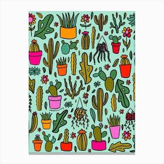 Plant Print Canvas Print