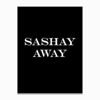 Sashay Canvas Print