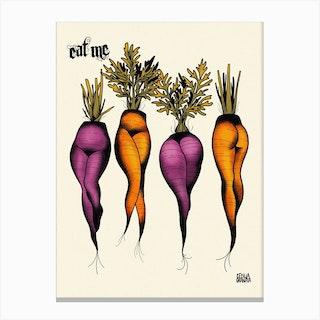 Sexy Carrots Canvas Print