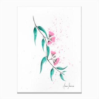 Eucalyptus Lush Canvas Print