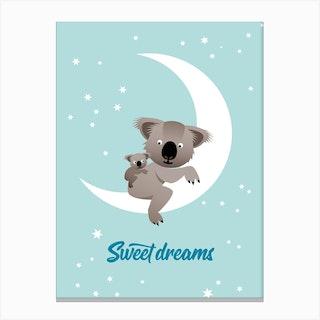 Sweet Dreams I Canvas Print
