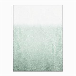 Fading Green Eucalyptus in Canvas Print