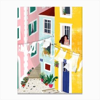 Chillin Canvas Print